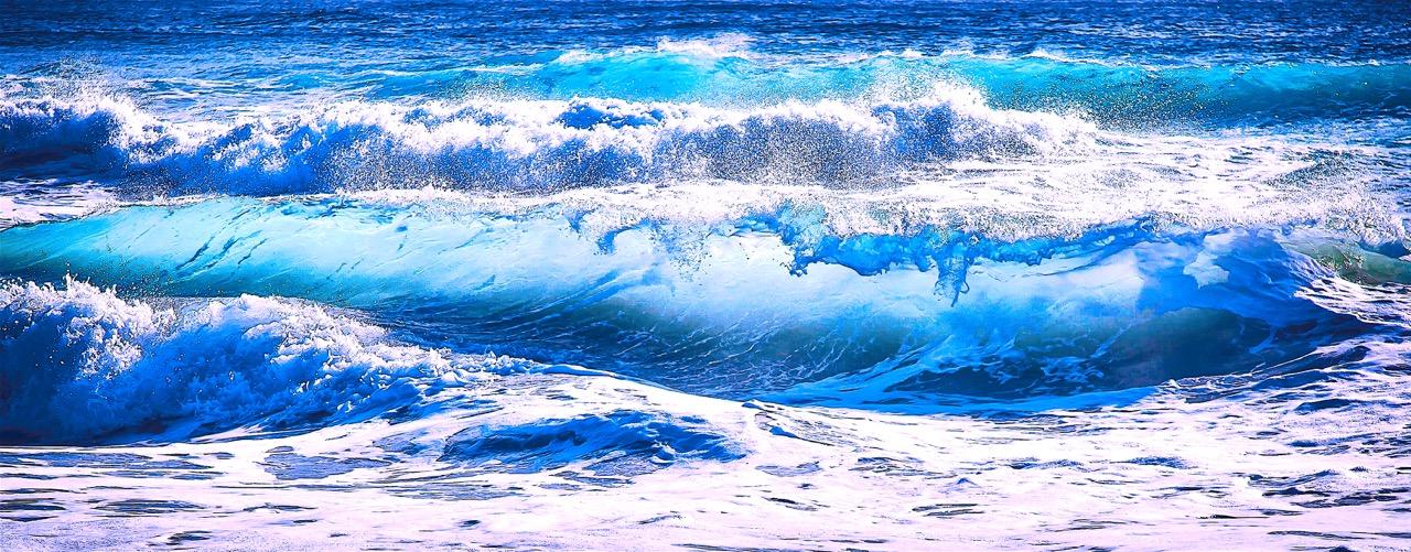 Cours bleu